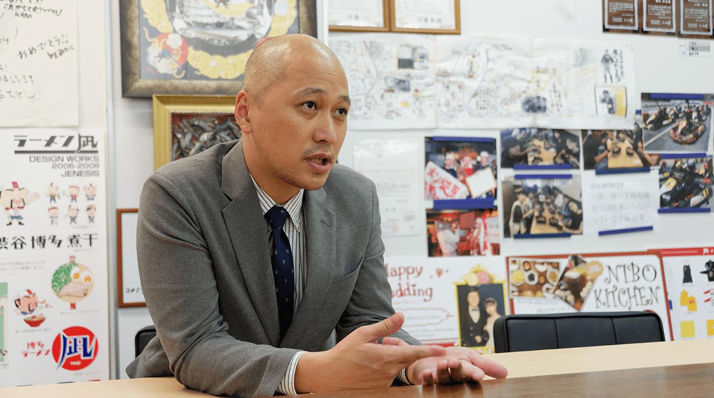 株式会社凪スピリッツ 財務戦略部 店舗開発部 統括本部長 牧野篤様